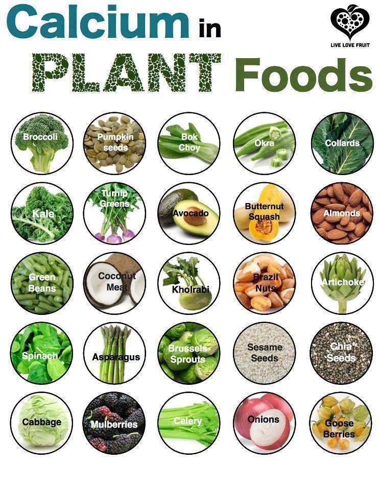 Calcium Foods Food Tip Pics Pinterest Food, Vegans