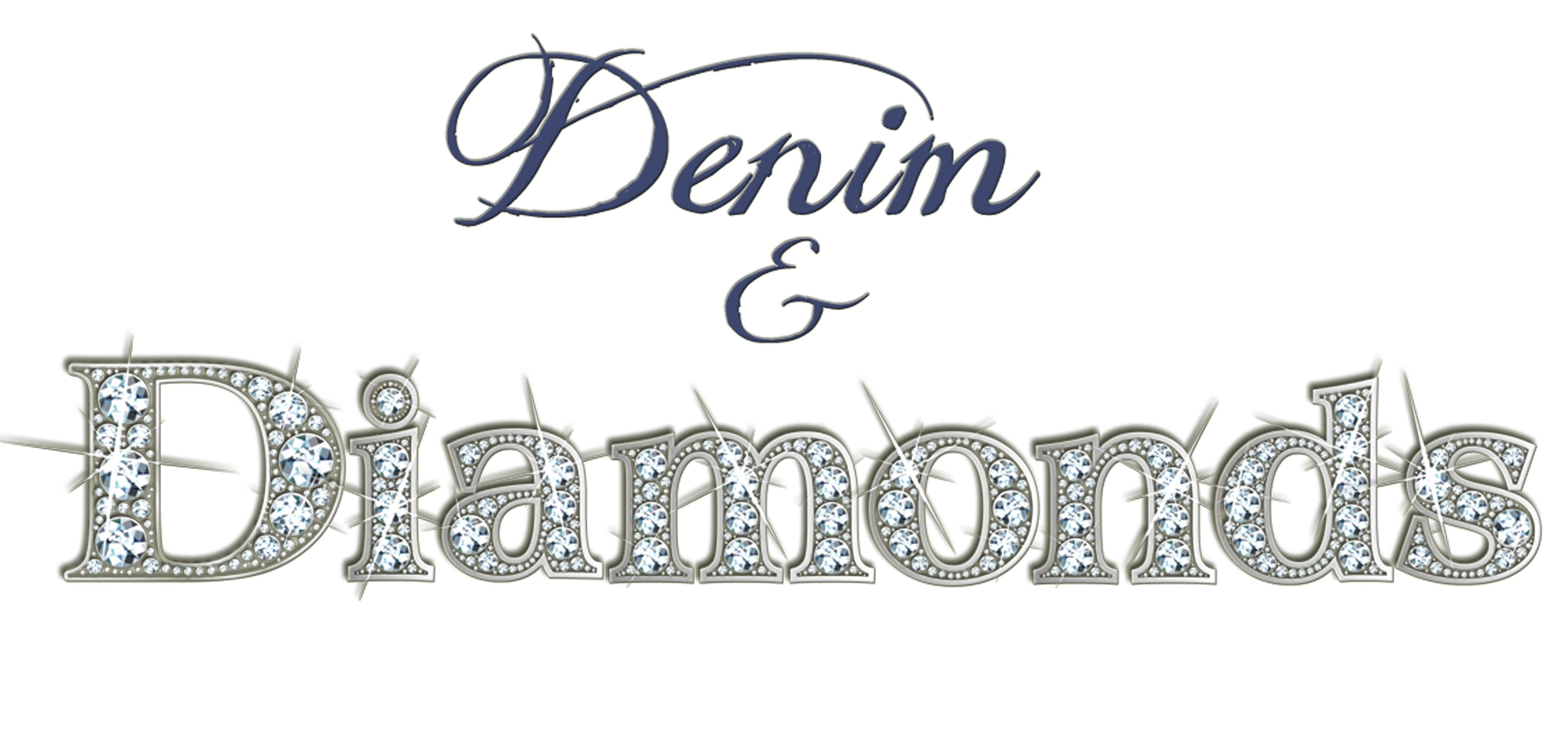 Denim And Diamonds Invitation Ideas