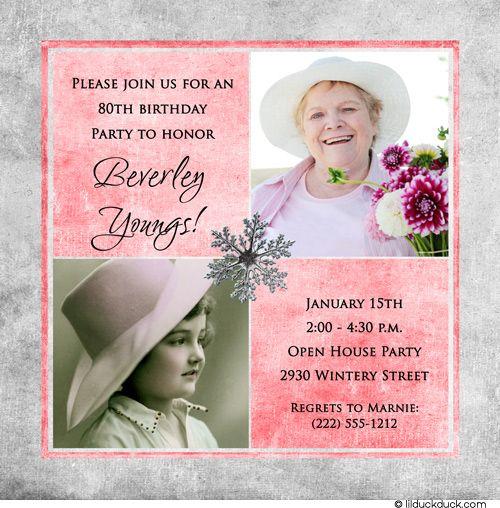 Moms 80th Birthday Party On Pinterest 80th Birthday
