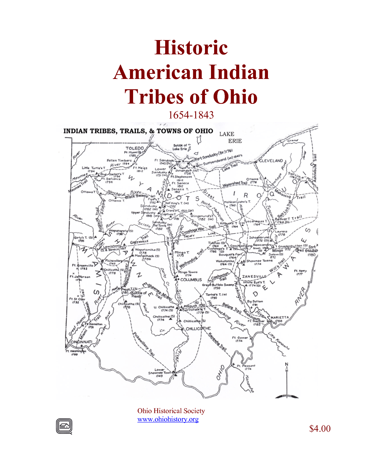 American Indian Tribes Of Ohio
