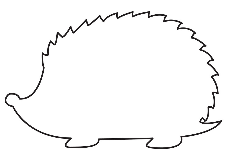 Hedgehog Template