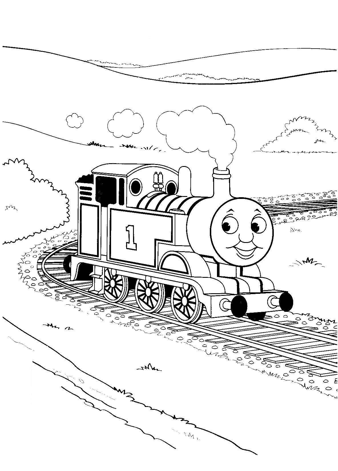 1000 images about coloring pages on pinterest trains coloring