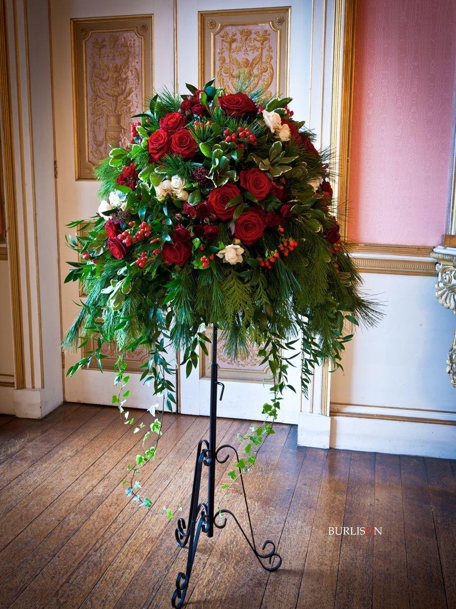 red roses pedestal Google Search maribel Pinterest