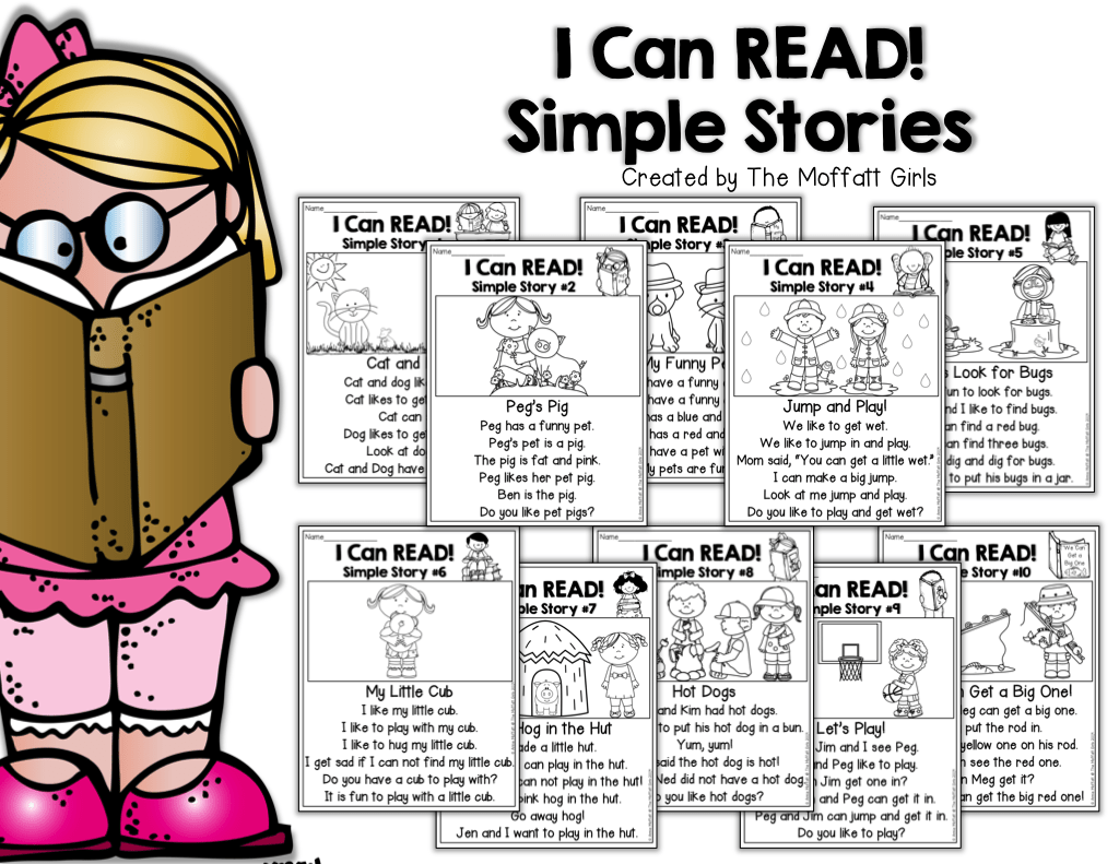 I Can Read Simple Stories Kids Will Build Fluency And
