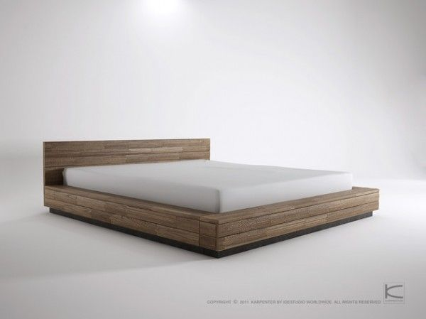 Low Bed Frames King Lurrai