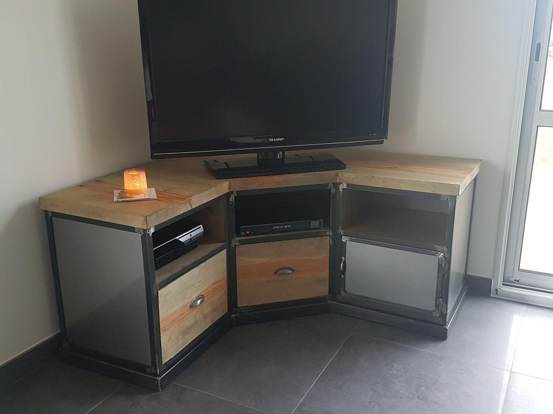 Meuble Tv Industriel Occasion Armoire Designe Armoire