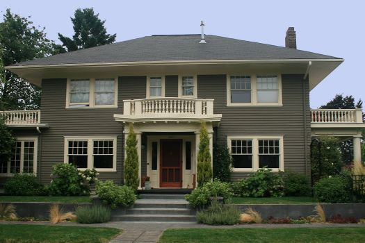 Ext Colonial Colors Interest Green Exterior House Paint Home