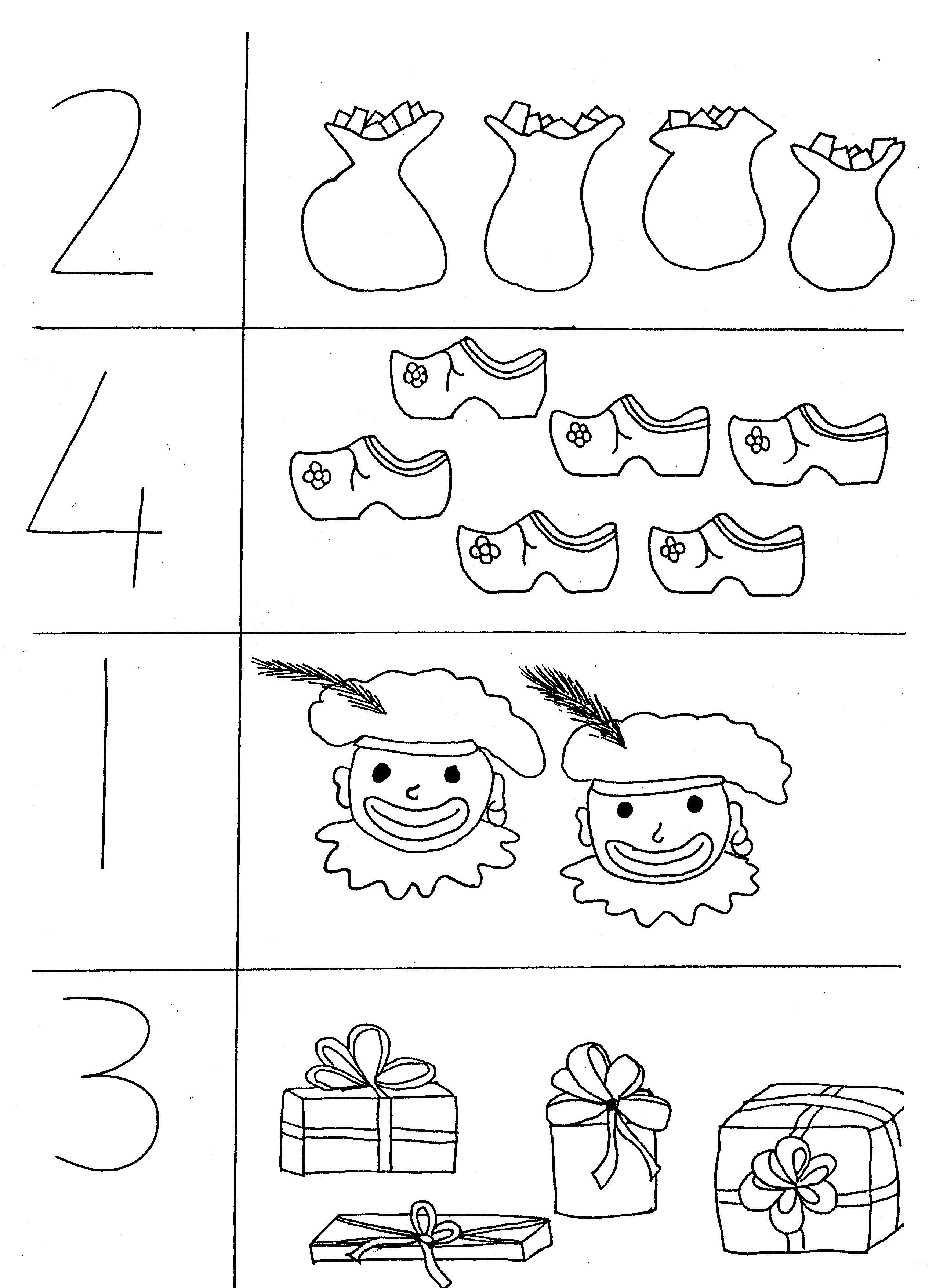 Werkbladen Sinterklaas