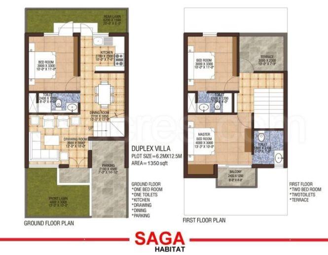 Free Indian Duplex House Plans | Amazing House Plans