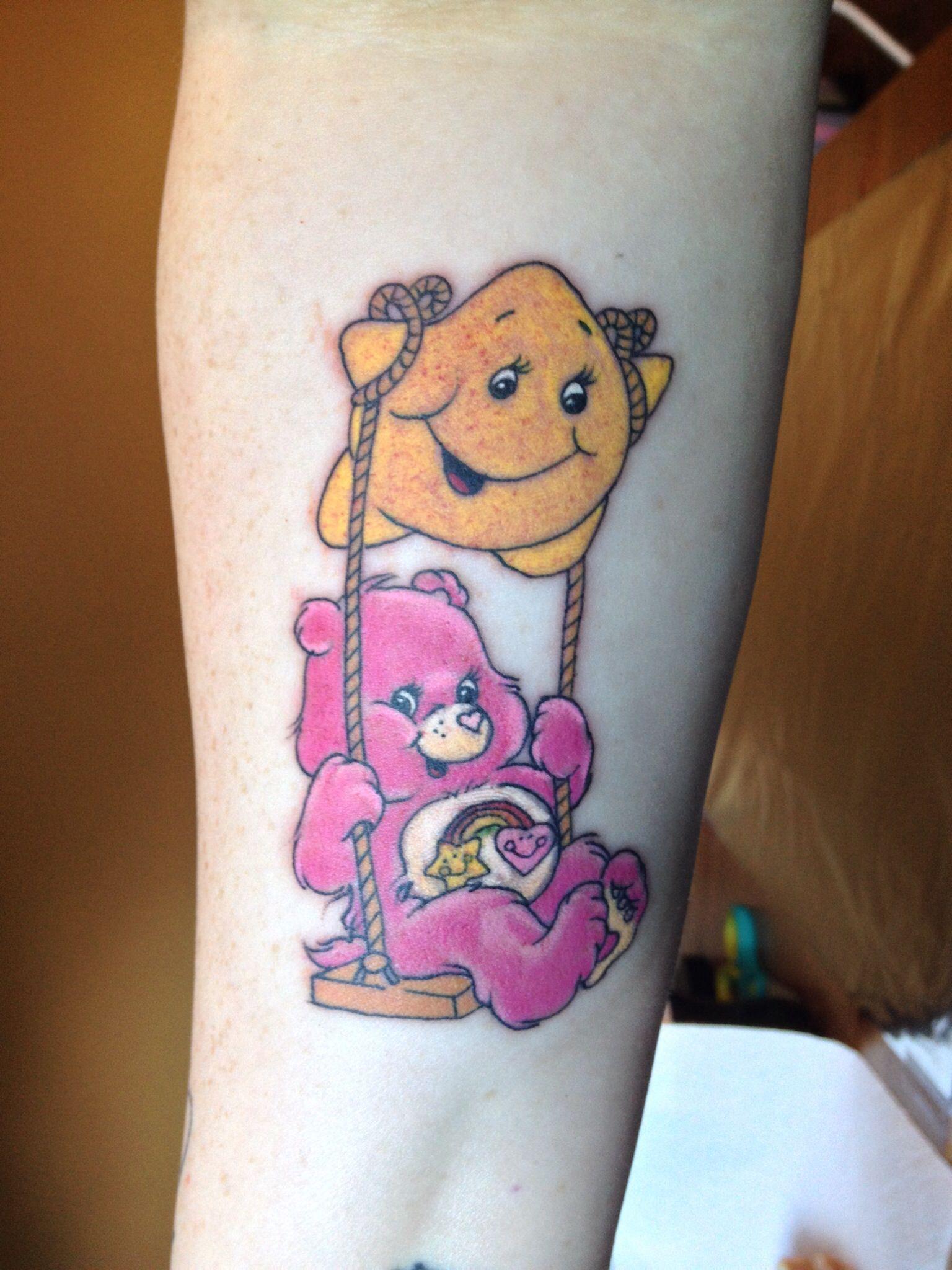 My care bear tattoo!!! Tattoos Pinterest Care bear