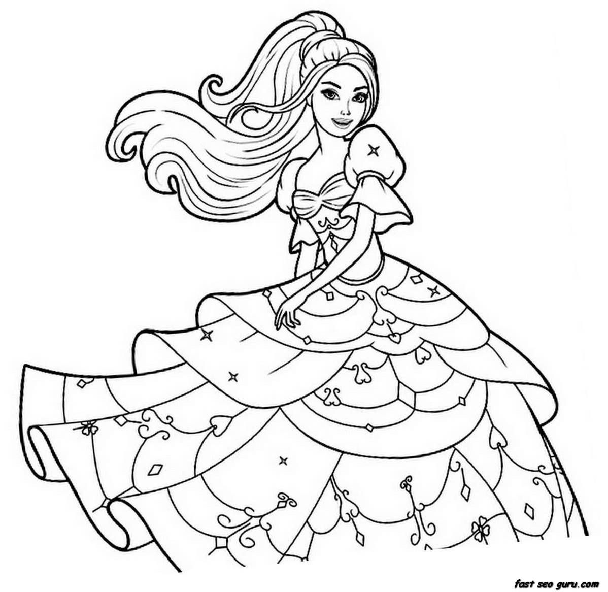 Coloring Pages For Girls Printable Coloring Pages For