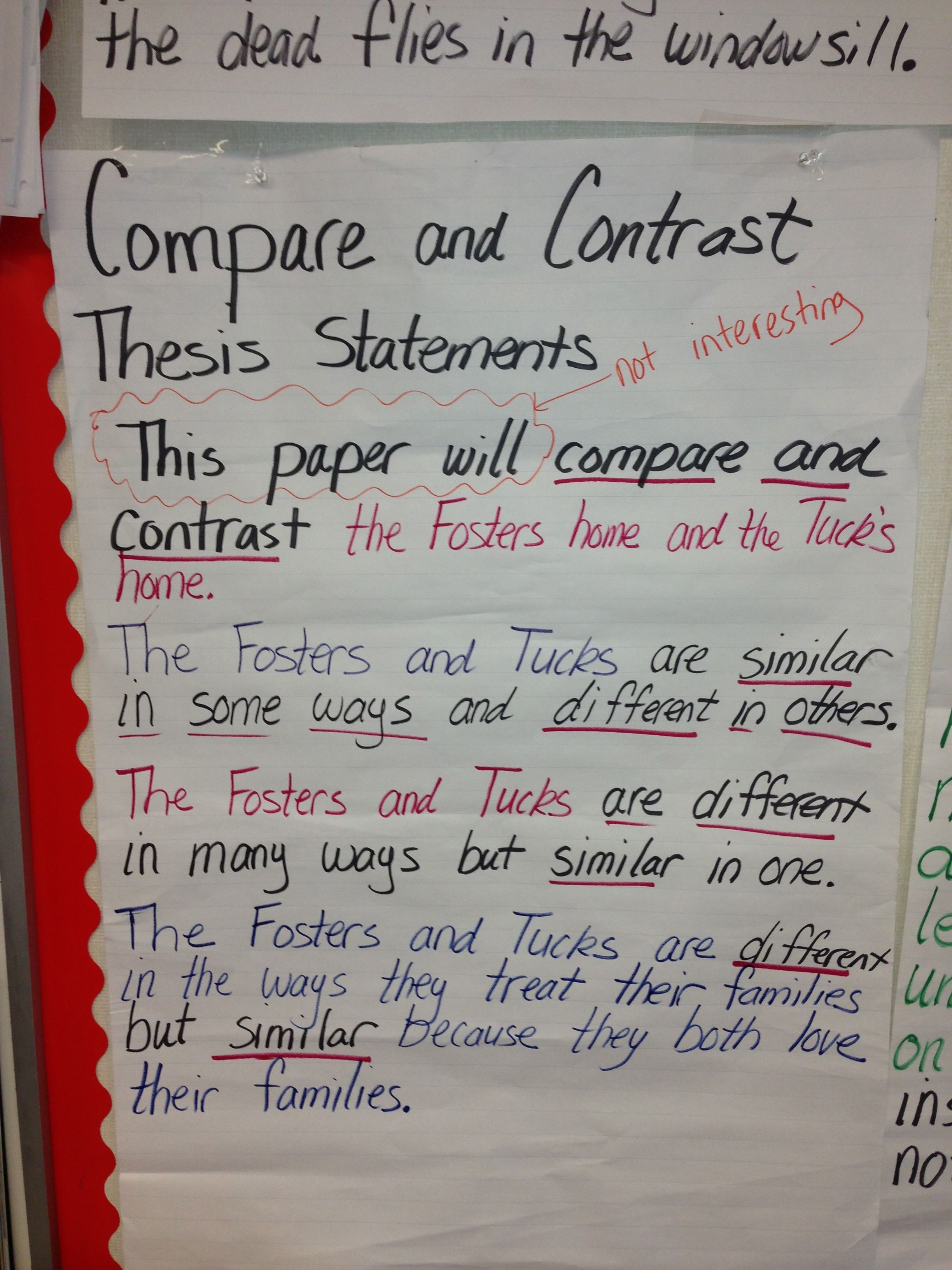 Compare And Contrast Tuck Everlasting