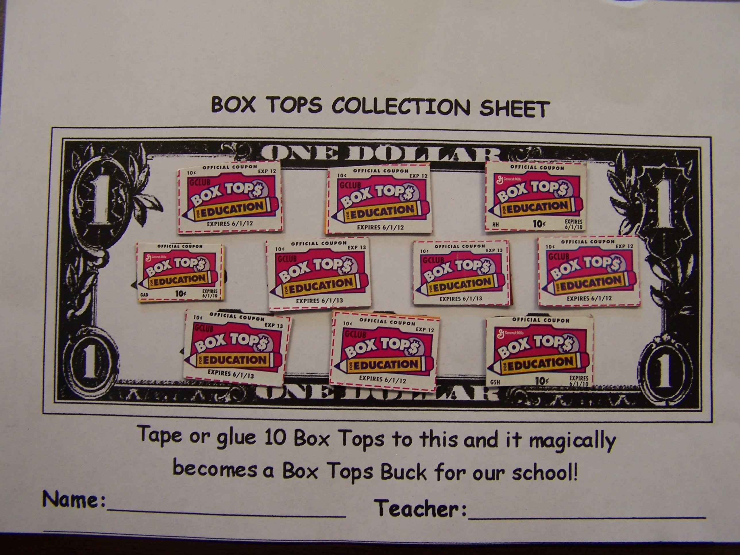 Mountain View Elementary Box Tops For Education