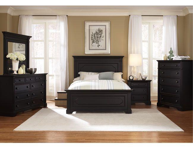 Black Bedroom Furniture On Pinterest