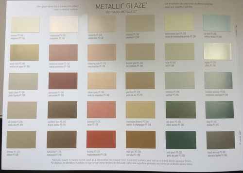 Benjamin Moore Metallic Paint Color Chart Home Painting