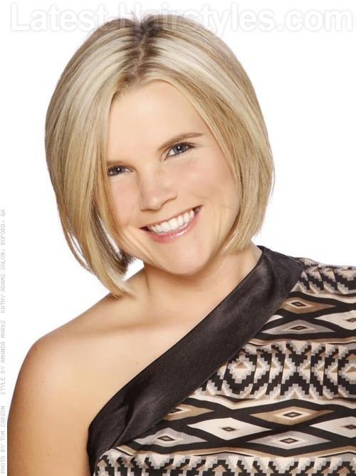 Short Perky Smooth Blonde Bob This Fantastic Example Of