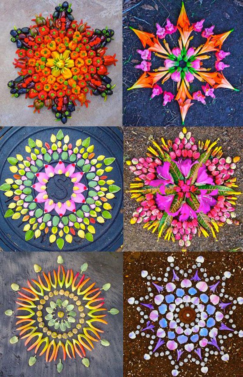 New Flower Mandalas by Kathy Klein Mandalas, Flower and