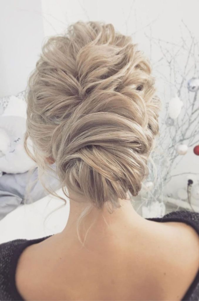 gorgeous chignon wedding hairstyle to inspire you - fabmood