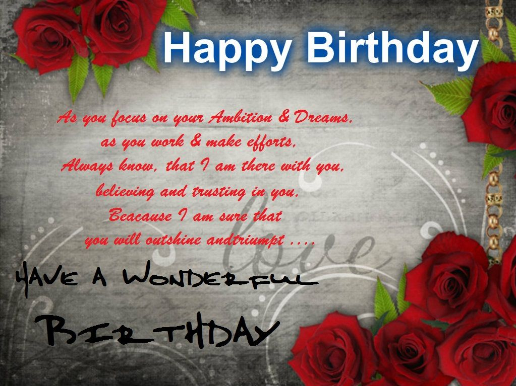 Happy Birthday Wishes for Facebook Happy Birthday Wishes