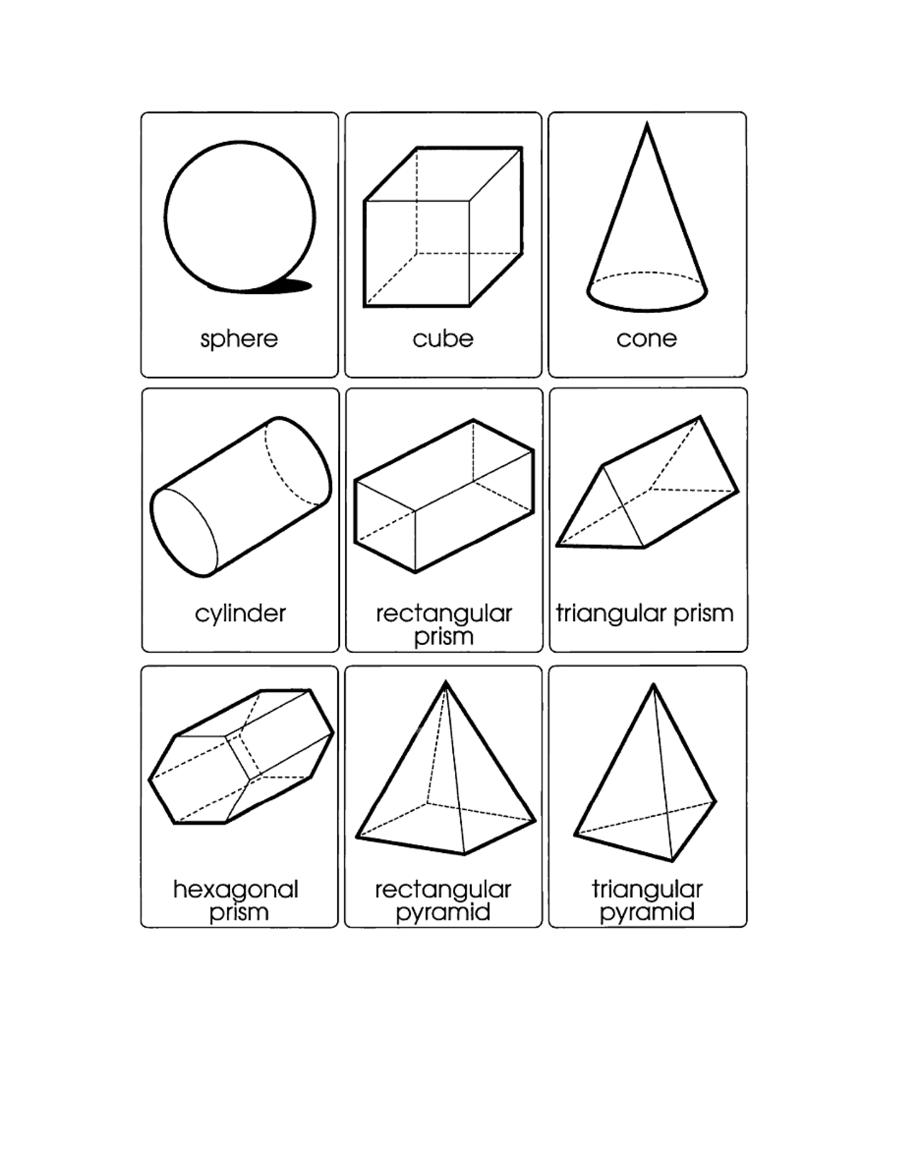 3d Shape Templates