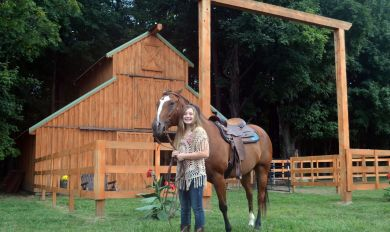 Portable Wood Horse | Wooden Thing