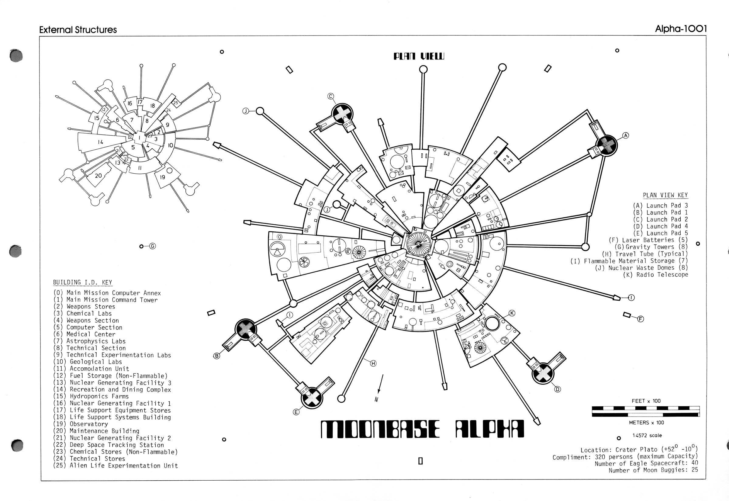 Moonbase Alpha Technical Notebook Space
