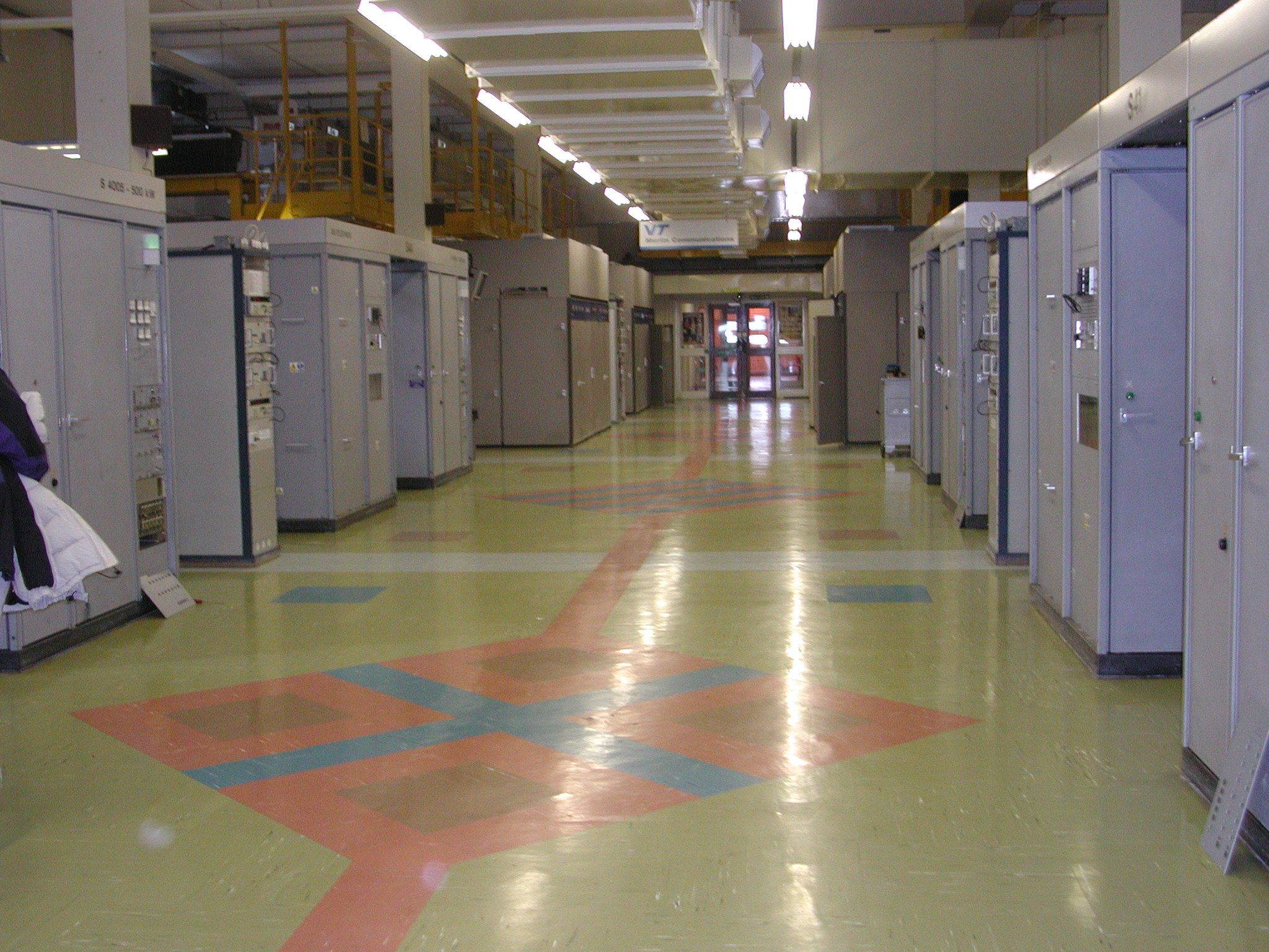 The transmitter hall at Rampisham Short Wave Station in