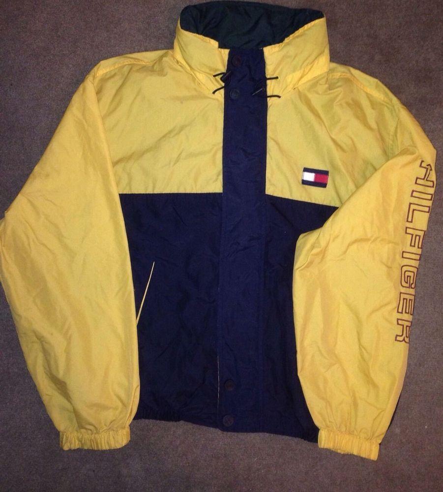 90s Vintage Tommy Hilfiger Jacket RARE XL Vtg Clothes