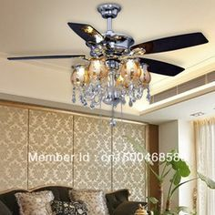 Online Whole Modern Chandelier Ceiling Fans From China Wholers