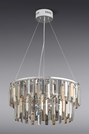 Bellagio 5 Light Smoke And Mink Chandelier From The Next Uk Online