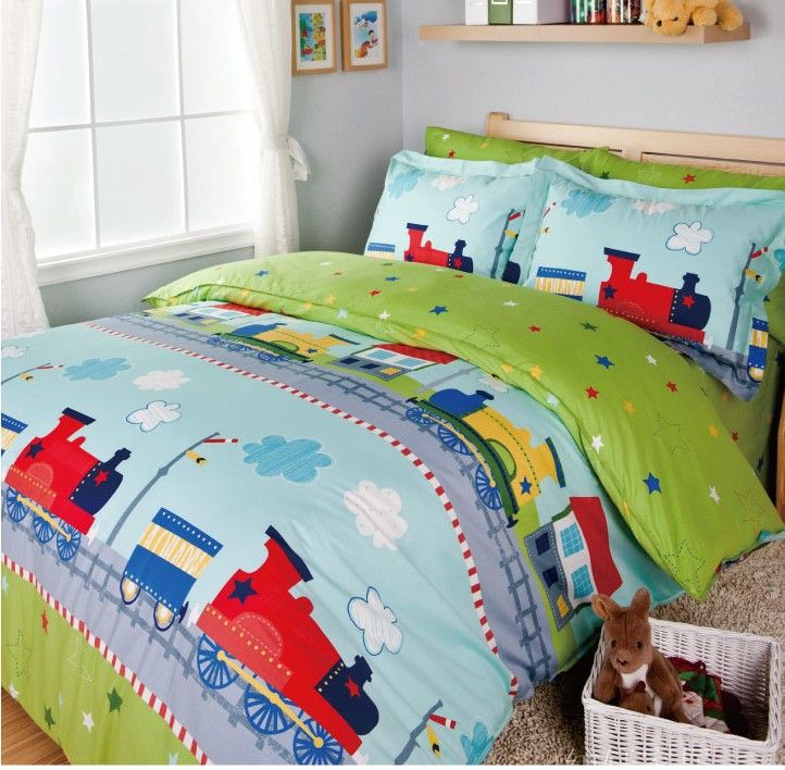Train Bedding Sets Kids Bed Bed Cover Set Sheets For Bed