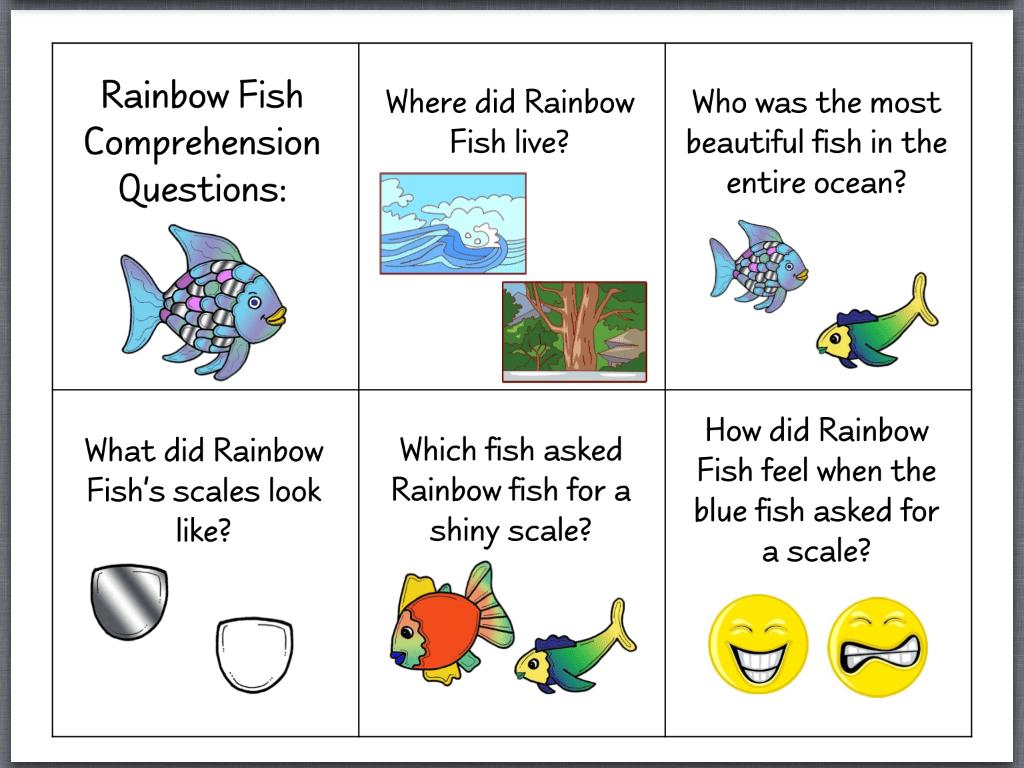Let S Talk The Rainbow Fish