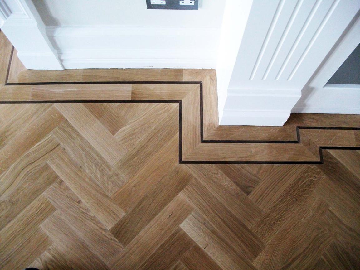 Oak Herringbone Flooring Flooring Our modern remodel