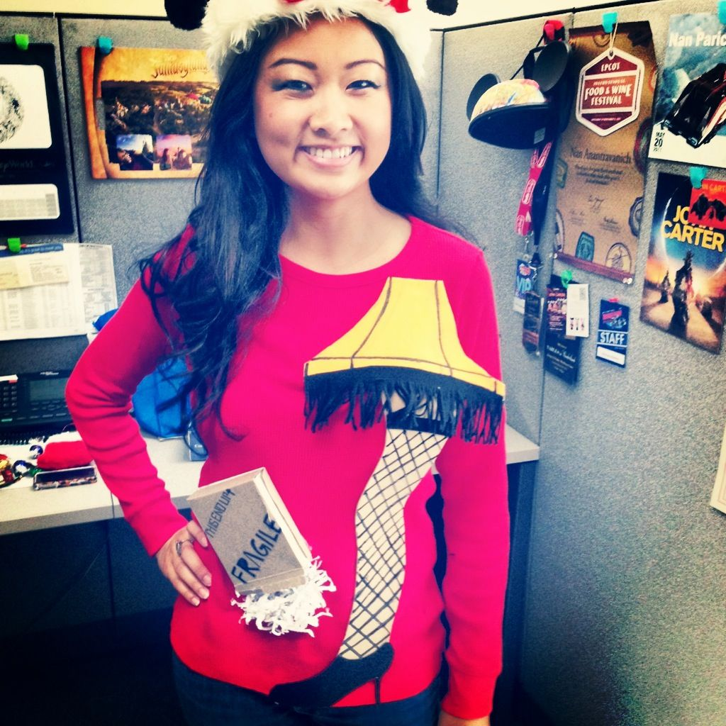 DIY Ugly Sweater A Christmas Story Leg Lamp. Kelly, not