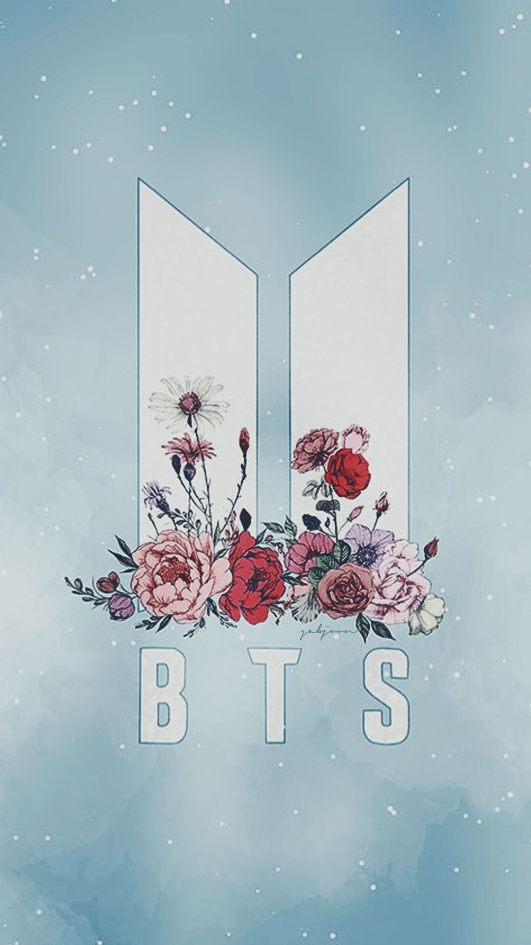 Logo BTS 2017 Wallpapers Pinterest Bts wallpaper