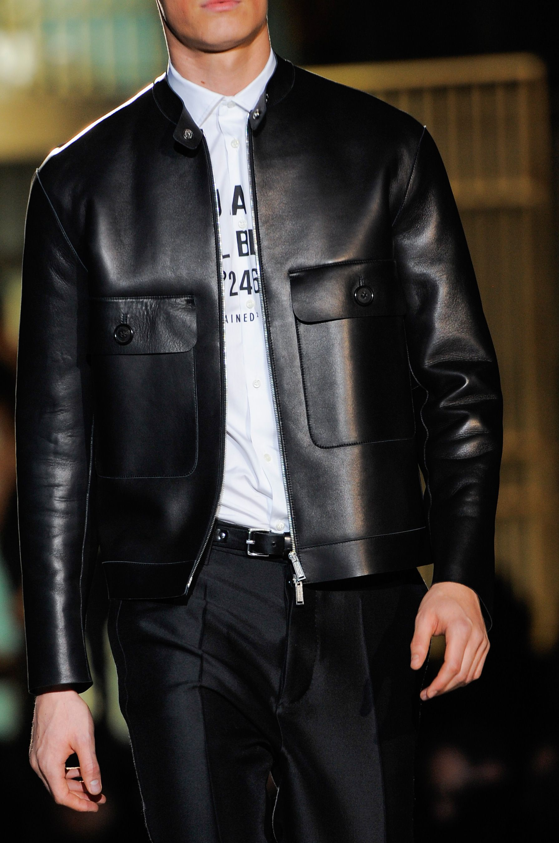Dsquared² Fall 2014 Menswear Collection. dapper dan