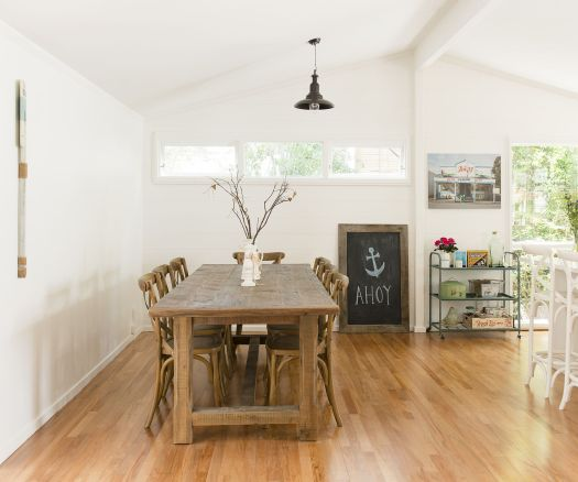 An Original Two Bedroom Lockwood Home Gets The White Paint Treatment Can T