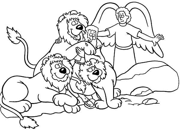 Bible Colouring Pages 1000 Images About Story Daniel Amp Lions Den