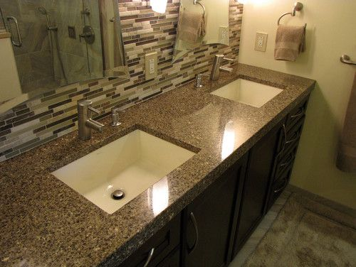 master bath remod - bathroom countertops - detroit - solid