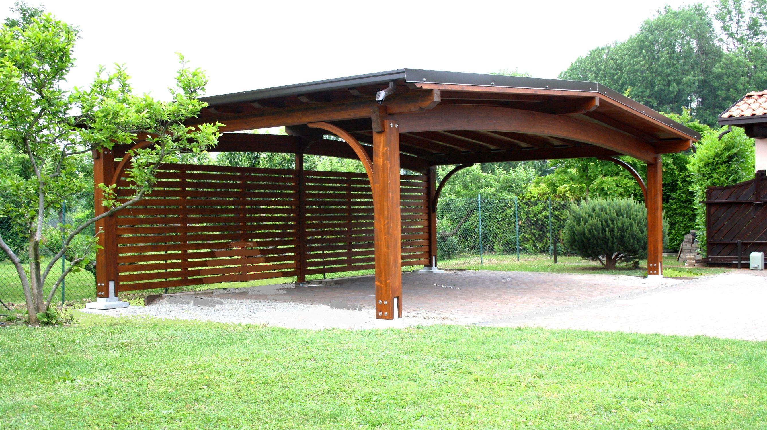 wood carports Wooden carport ARCO Gazebodesign