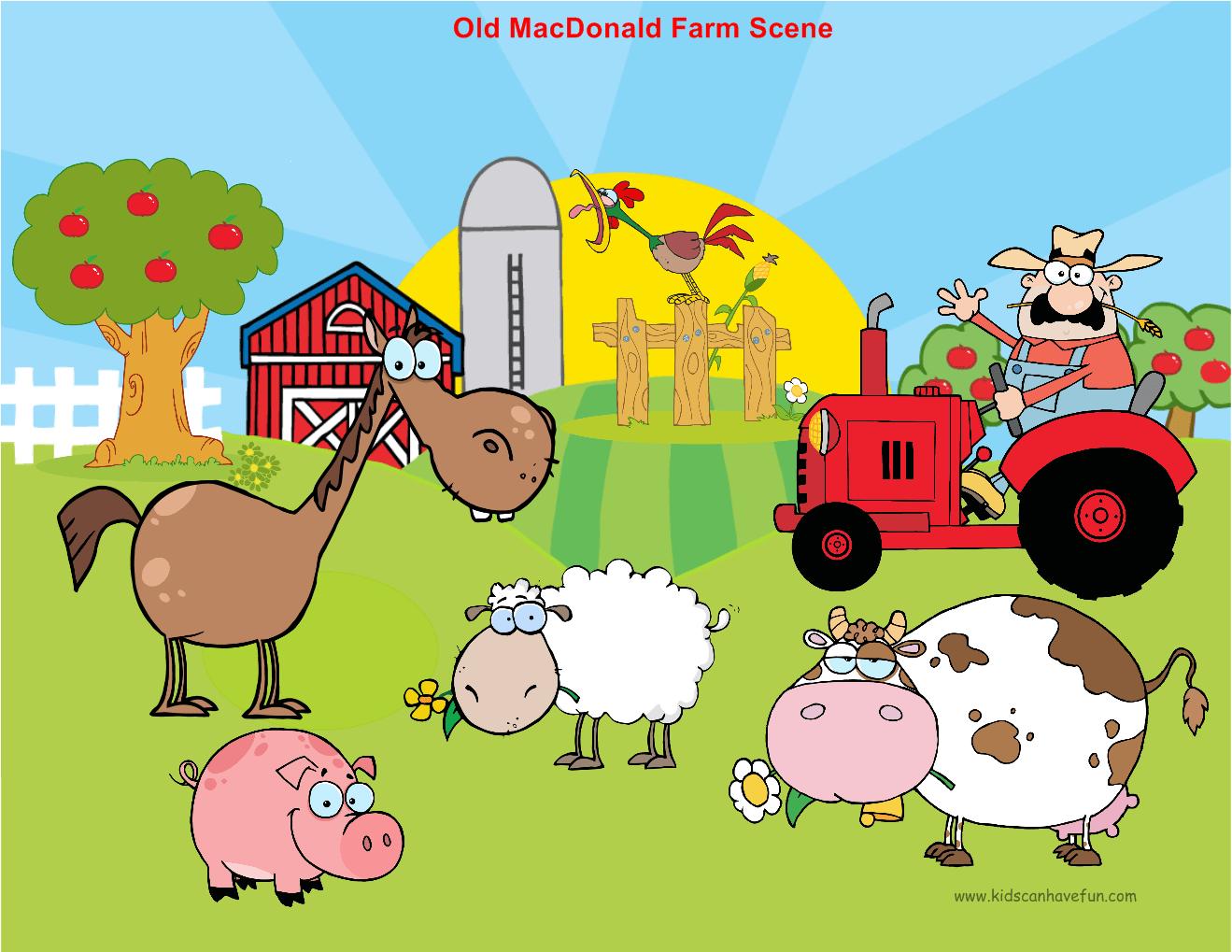 Learn how to DIY Farm Story Felt Board with Old Macdonald