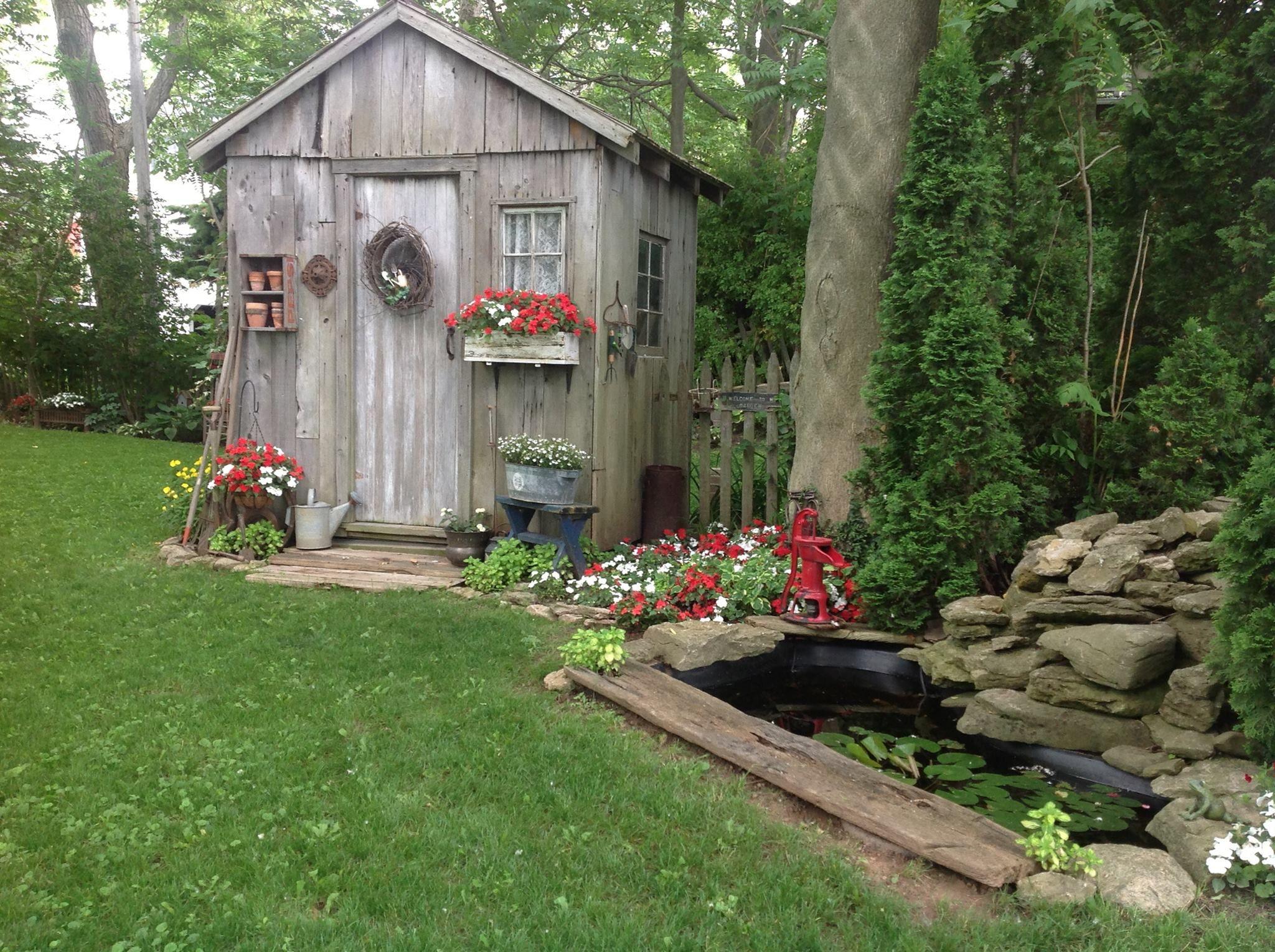 Fairytale Backyards 30 Magical Garden Sheds Gardens