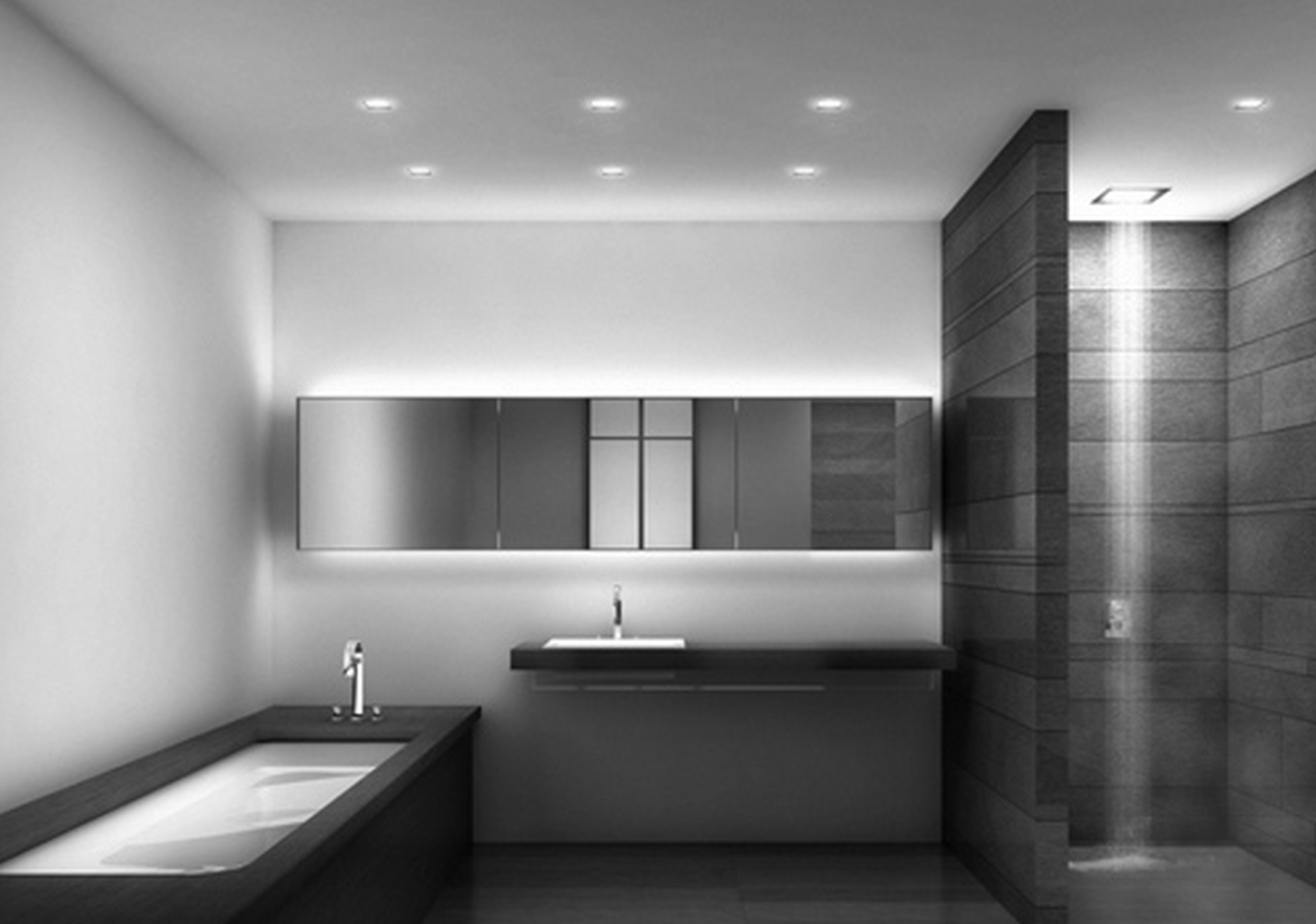 Modern Bathrooms Intended For Modern Bathrooms Designs