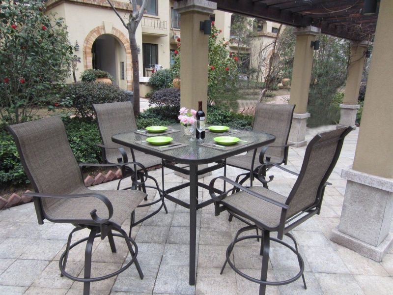 Bar Height Patio Set With Swivel Chairs   Selecting outdoor veranda     Bar Height Patio Set With Swivel Chairs   Selecting outdoor veranda seats  may be complicated as