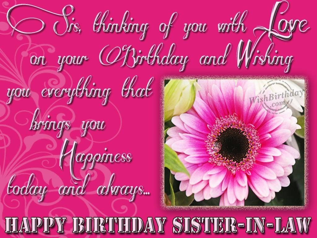 birthday wishes for sister in law facebook birthday