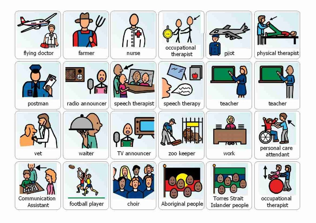 More Free Boardmaker Occupations To Download At Bottom Of