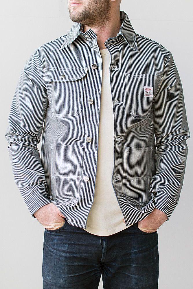 Pointer Brand Hickory Stripe Chore Coat Pointer Brand