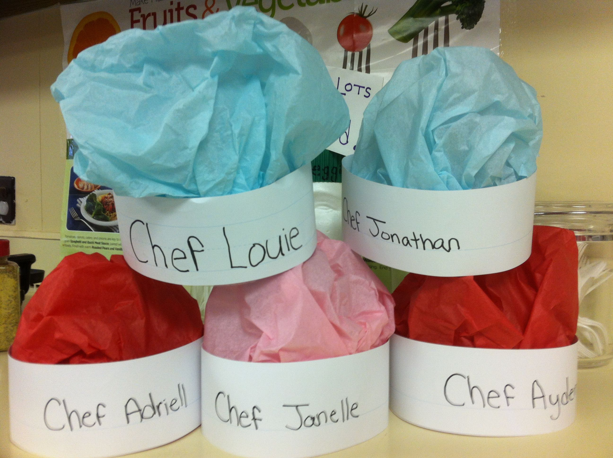 Chef Hats For Community Helper Theme And Chef Day And