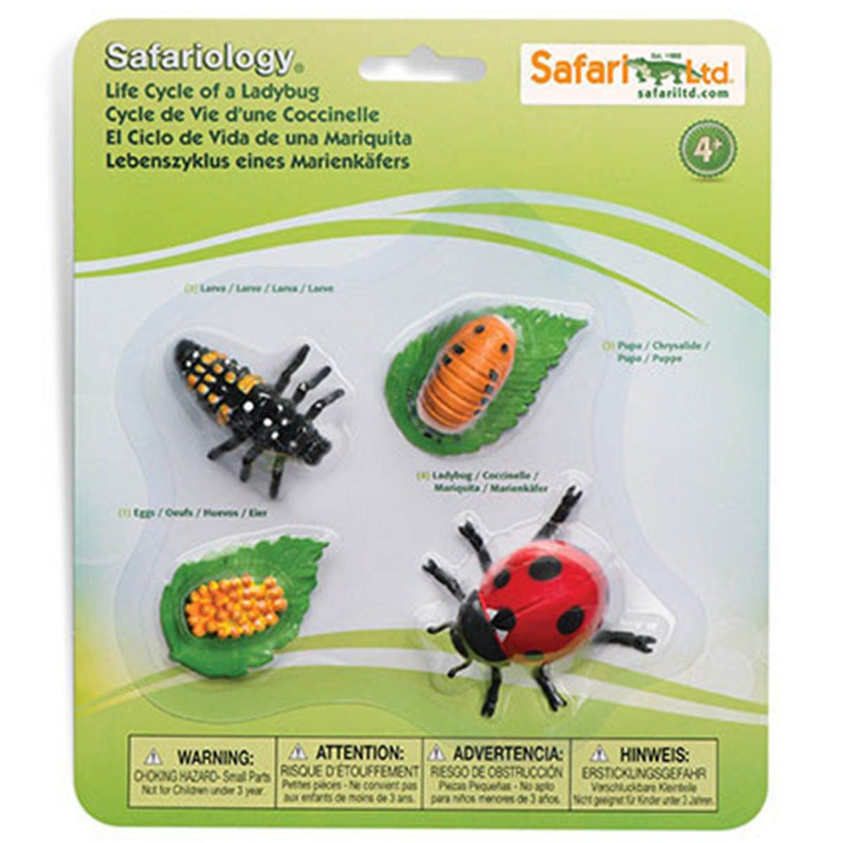 This Is A Really Neat Ladybug Set Of Figures For The Kids