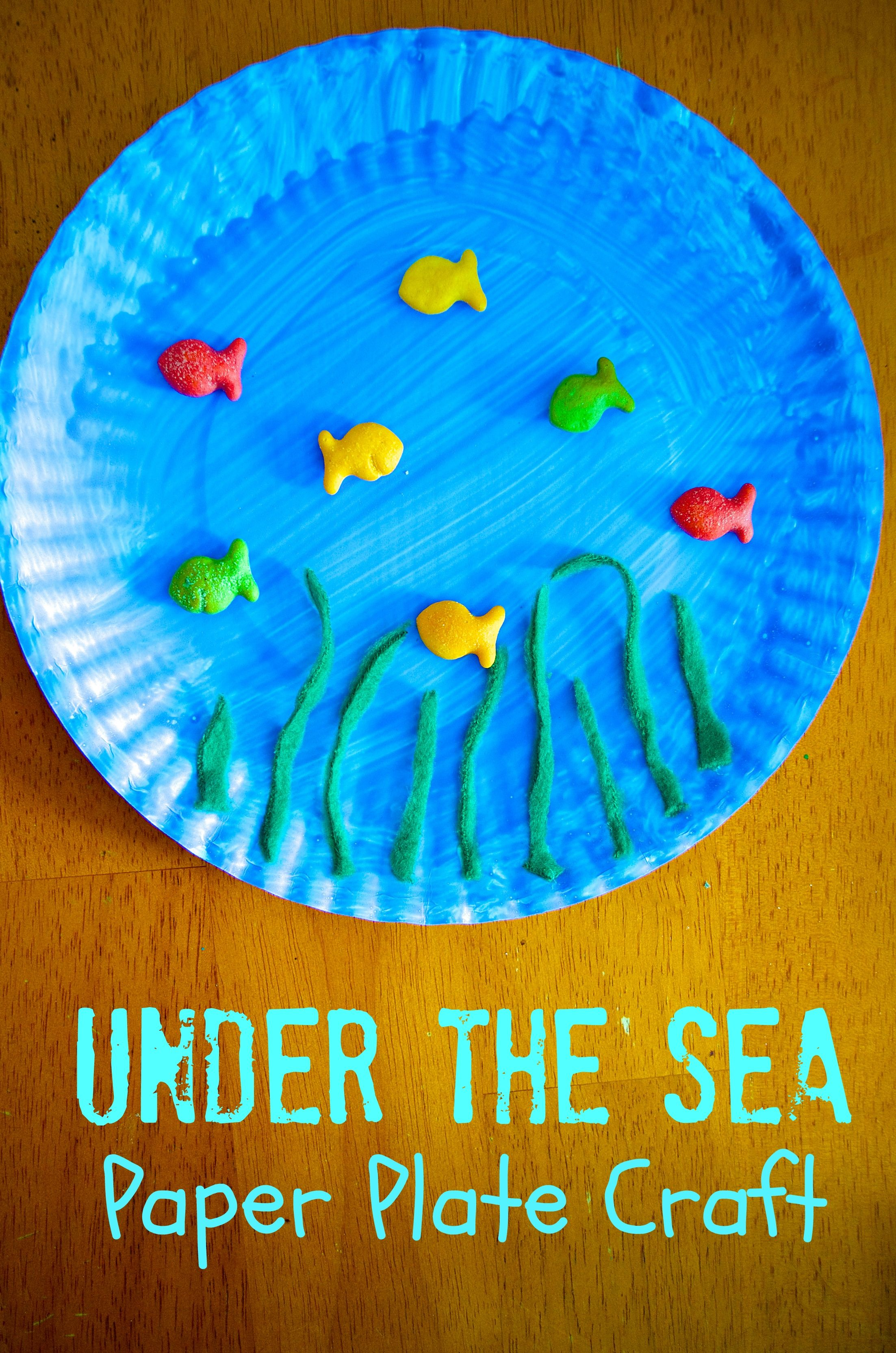 Under The Sea Paper Plate Craft